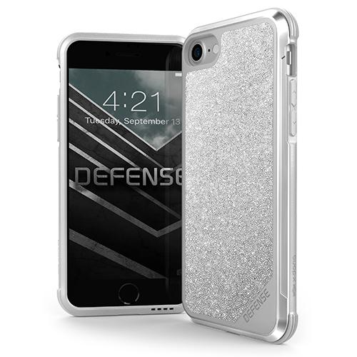 X-Doria Defense Lux Crystal iP7/8 Silver - Click to enlarge