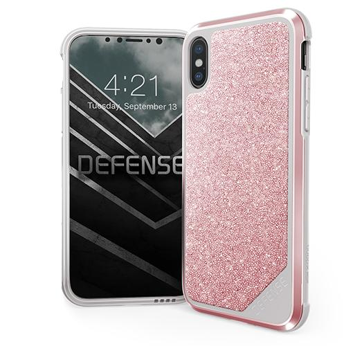 X-Doria Defense Lux Crystal iPX/XS Pink - Click to enlarge