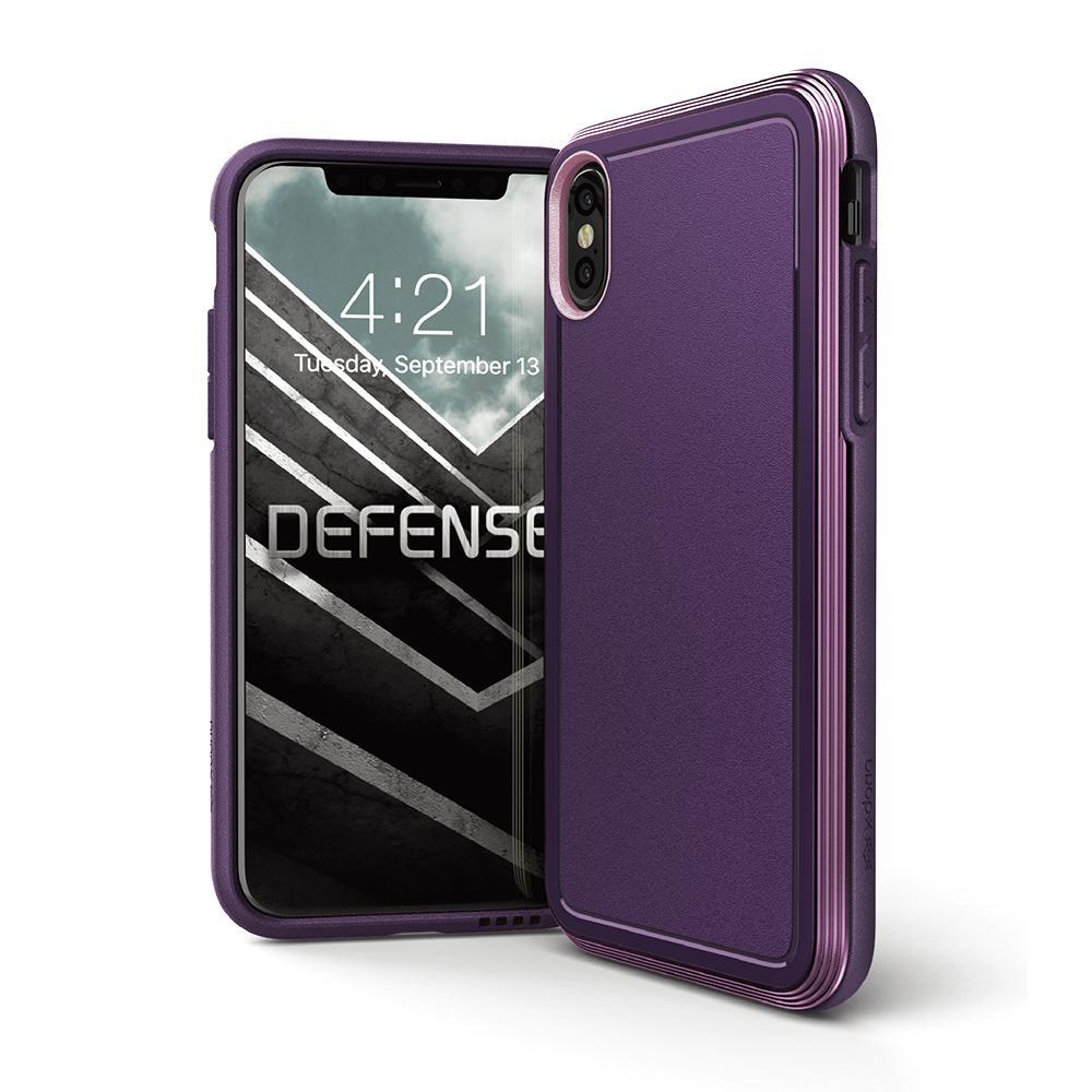 X-Doria Defense Ultra iPhone X Purple - Click to enlarge