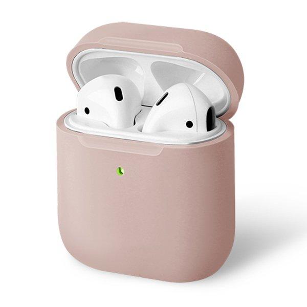 UNIQ Lino Silicon AirPods Case Pink