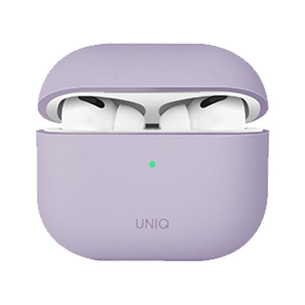 UNIQ Lino Silicon AirPods 2021Case Lilac