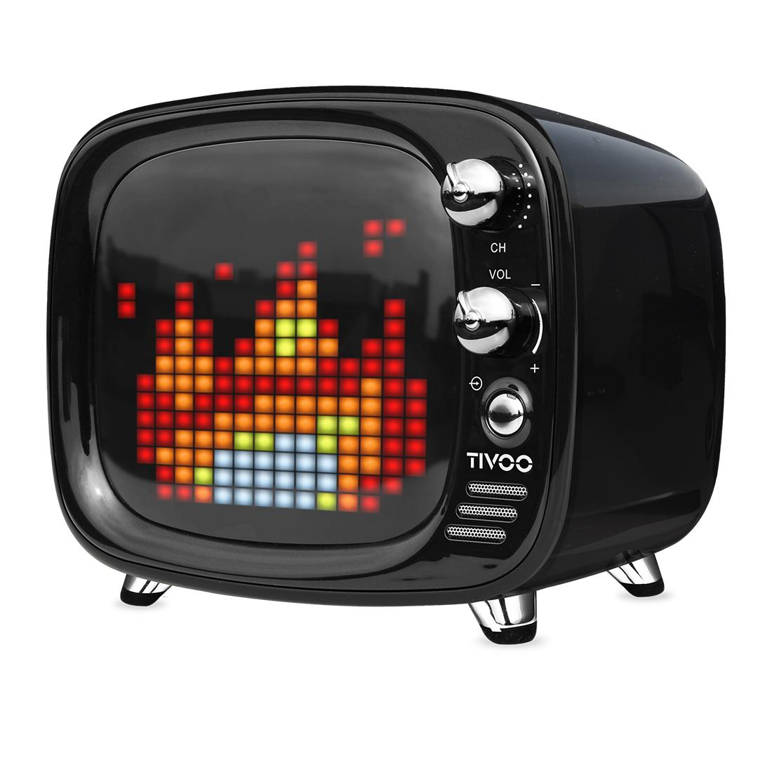 Divoom Tivoo 4th Gen Pixel Speaker BLK - Click to enlarge