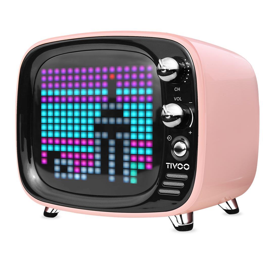 Divoom Tivoo 4th Gen Pixel Speaker PNK - Click to enlarge
