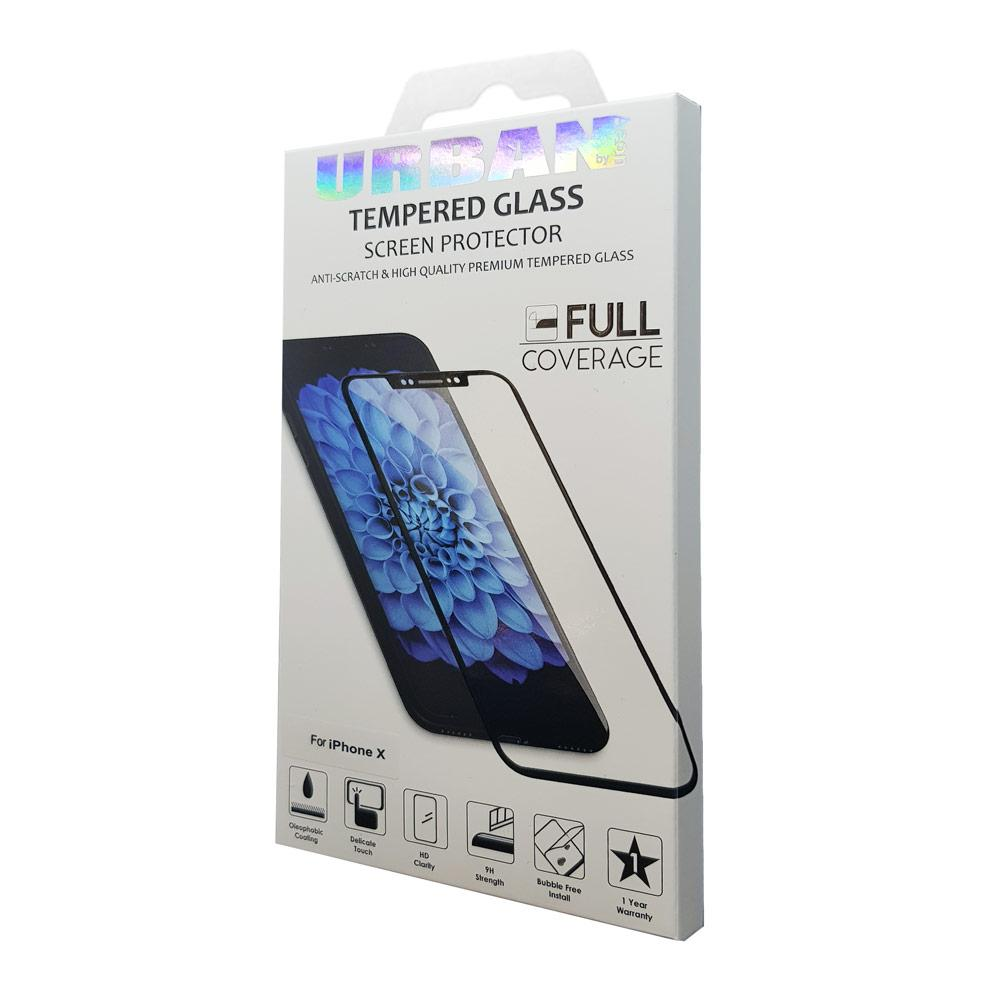 Urban Glass Scr Pro for iP XS Max Black - Click to enlarge