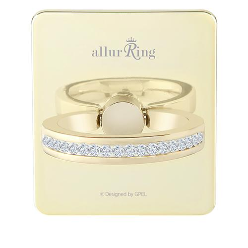 GPEL allurRing Scarlet Light Gold - Click to enlarge