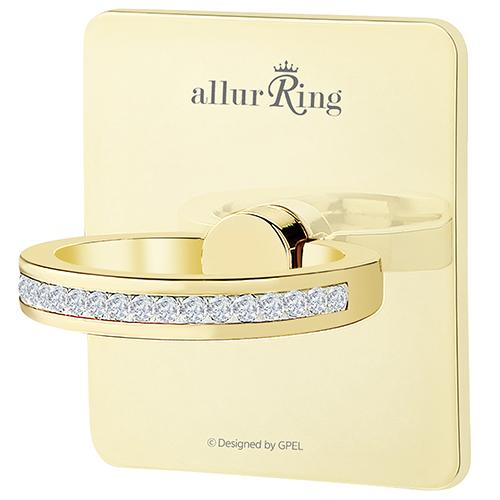 GPEL allurRing Scarlet Light Gold