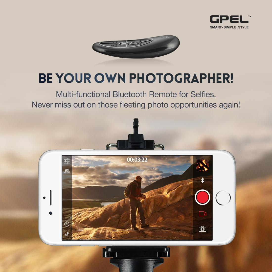 GPEL Remote Controller for Selfie