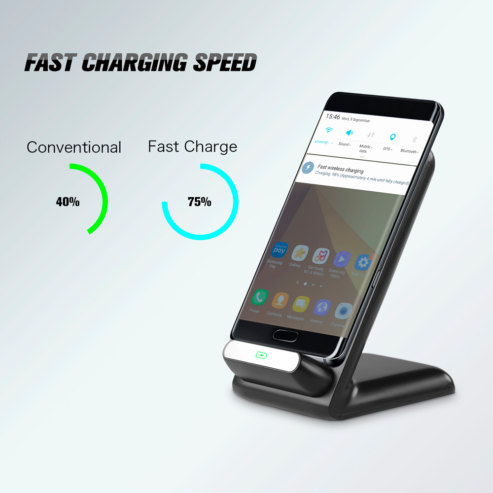 GPEL Fast Wireless Charging Stand