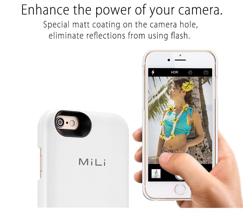 Mili Charging Case for iPhone6/6s Grey