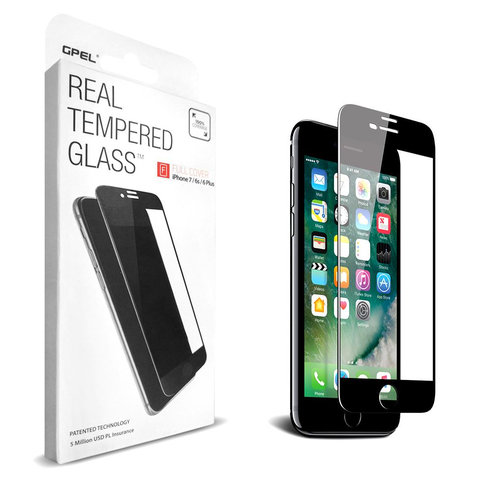 GPEL Glass Scr Pro iP7/8 Plus Black - Click to enlarge