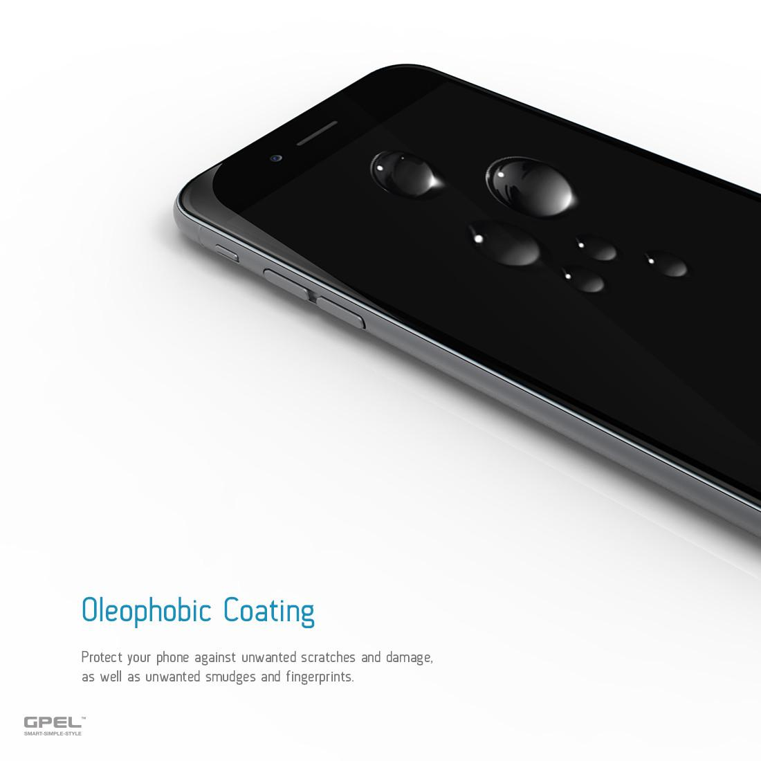 GPEL Glass Scr Pro iP7/8 Plus Black
