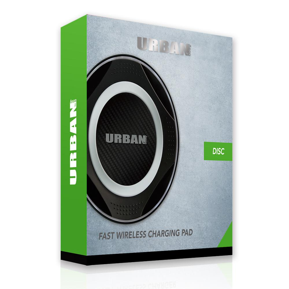 Urban Disc Fast Wireless Charging Pad - Click to enlarge