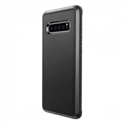 X-Doria Def Lux S10+ Black Leather - Click for more info