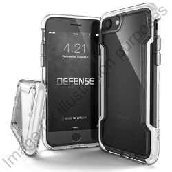 Defense Clear for iPhone 7 - White - Click for more info