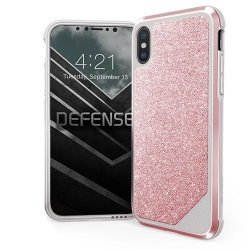 X-Doria Defense Lux Crystal iPX/XS Pink - Click for more info