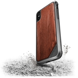 X-Doria Def Lux iPhone X Wood - Click for more info