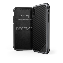 X-Doria Def Lux iP X/XS Black Carbon - Click for more info