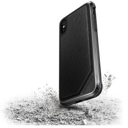 X-Doria Def Lux iP X/XS Black Leather - Click for more info