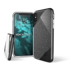 X-Doria Revel Lux iPhone X Black Glitter - Click for more info