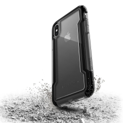 X-Doria Defense Clear iPhone X - Black - Click for more info