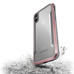 X-Doria Def Shield iPhone X Rose Gold - Click for more info