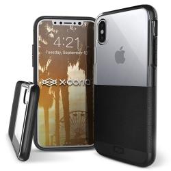 X-Doria Dash iPhone 8 Black Leather - Click for more info