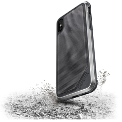 X-Doria Def Lux iPhone X Grey Nylon - Click for more info