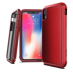Defense Lux DropSd iP XR Red Leather - Click for more info