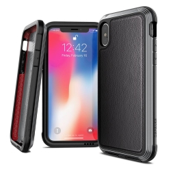 Defense Lux DropSd iP XS Max BLK Leather - Click for more info