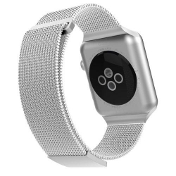 X-Doria Mesh Band iWatch 38/40mm Silver - Click for more info