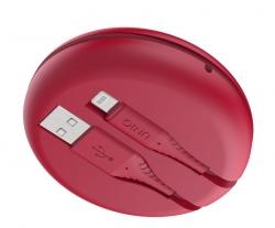 UNIQ Halo USB A to L Cable 1.2m Red