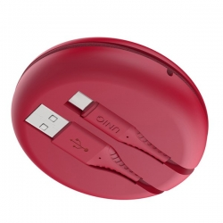 UNIQ Halo USB A to C Cable 1.2m Red