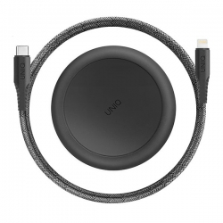 UNIQ Halo USB C to L Cable 1.2m Black