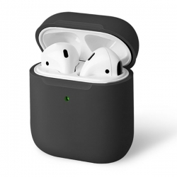UNIQ Lino Silicon AirPods Case Grey - Click for more info