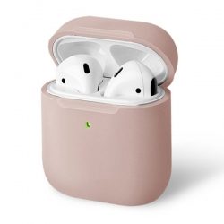 UNIQ Lino Silicon AirPods Case Pink - Click for more info