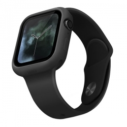 UNIQ Lino Case Apple Watch 44mm Black - Click for more info