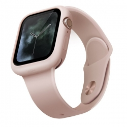UNIQ Lino Case Apple Watch 44mm Pink - Click for more info