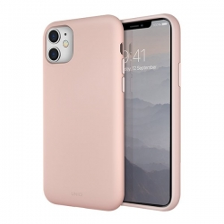 UNIQ Lino Hue iPhone 11 Pink - Click for more info