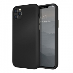 UNIQ Lino Hue iPhone 11 Pro Max Black - Click for more info