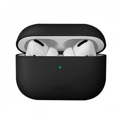 UNIQ Lino Silicon Airpods Pro Case Black - Click for more info