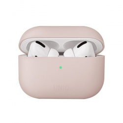 UNIQ Lino Silicon Airpods Pro Case Pink - Click for more info