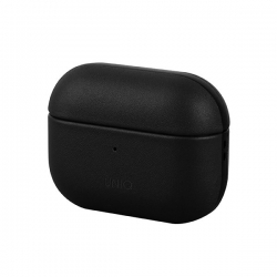 UNIQ Terra Leather Airpods Pro Case BLK - Click for more info