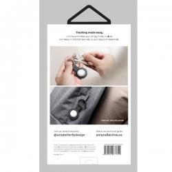 UNIQ Lino Silicon AirTag Case Grey