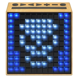 Divoom TimeBox Bluetooth Speaker WOOD