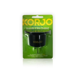 Korjo AC Adaptor for UK & US to Australi - Click for more info