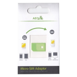 Micro Sim Adaptor - Click for more info