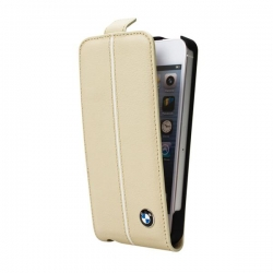 BMW Flip Case for iP5 Cream - Click for more info