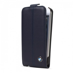 BMW Flip Case for iP5 Blue - Click for more info