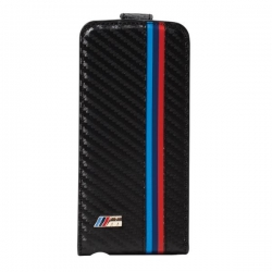 BMW Carbon Flip case for iP5/s/SE - Click for more info