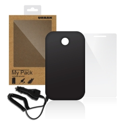 "Bundle Pack for ALCATEL PIXI 3 (3.5"")BLk - Click for more info"